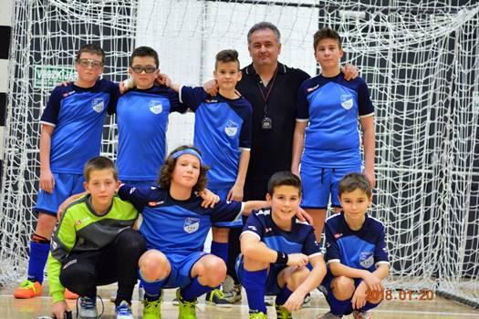 Futsal U13 megyei döntő, 4. helyezés
