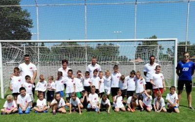 Marcali VFC U7-U9 nyári edzőtábora