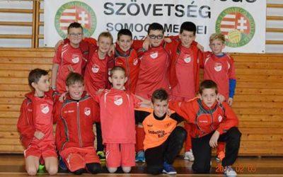 Megnyerte a 2016/2017-es Somogy megyei U-11-es futsal bajnokságot a Marcali VFC korosztályos csapata!