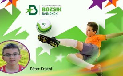 Marcali VFC játékos is bekerült a Bozsik bajnokok programba