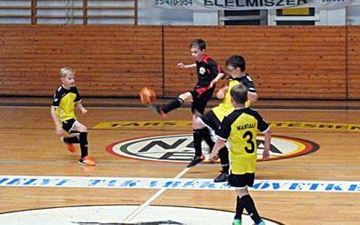 Futsal U11 országos elődöntő Marcaliban