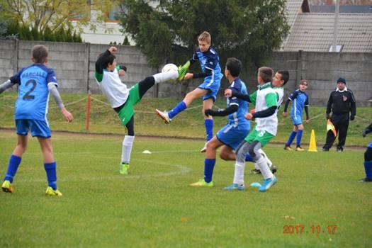 10.forduló az U14 foci bajnokságban