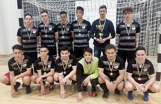 Somogy megyei Futsal bajnokság 2. helyezett csapata a Marcali VFC U19